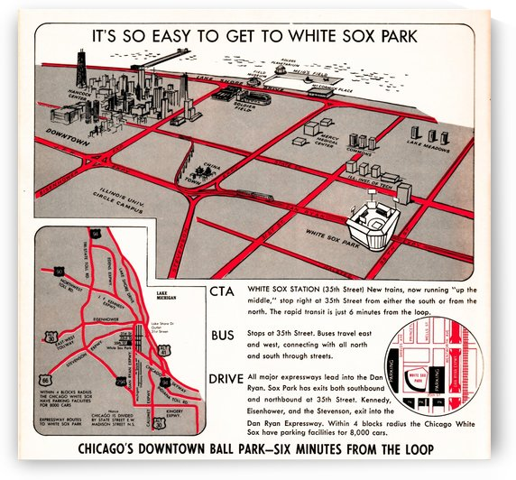 chicago map by Row One Brand