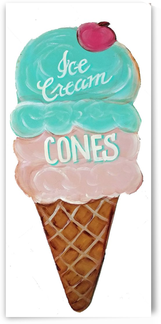 ICECREAMCONEGREENedited 1 by Watermelon Stand