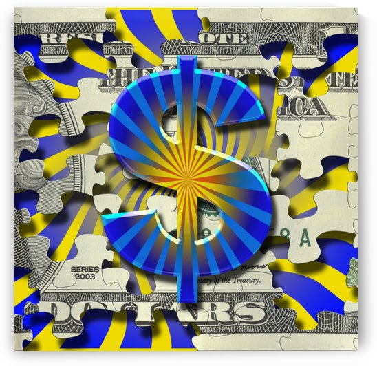 All Mighty Dollar by Bruce Rolff