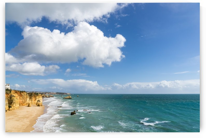 Gold Coast Algarve Classics - Vast Oceanfront Vista at Portimao Portugal by GeorgiaM