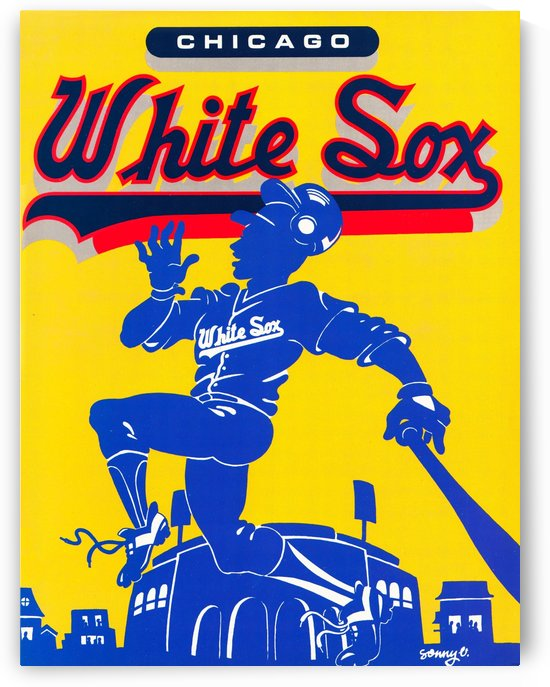 1987 white sox by Row One Brand