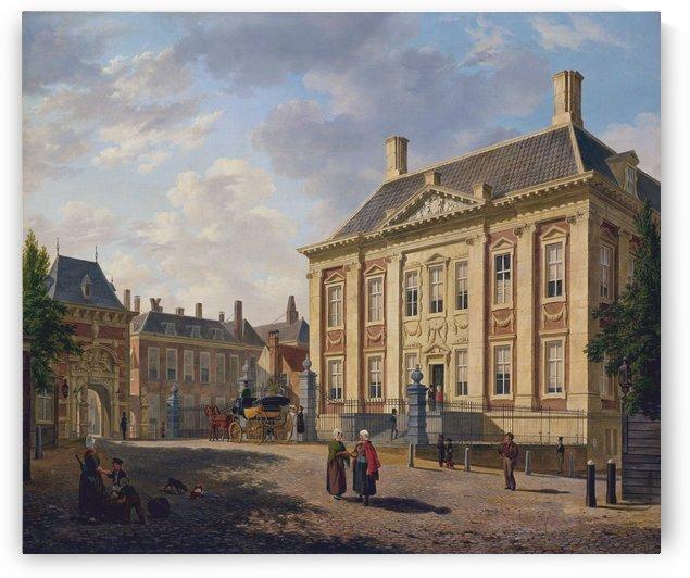 Het Mauritshuis te Den Haag by Bartholomeus Johannes van Hove