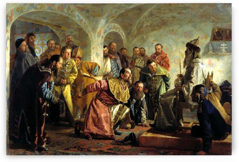 Oprichniki by Nikolai Vasilyevich Nevrev