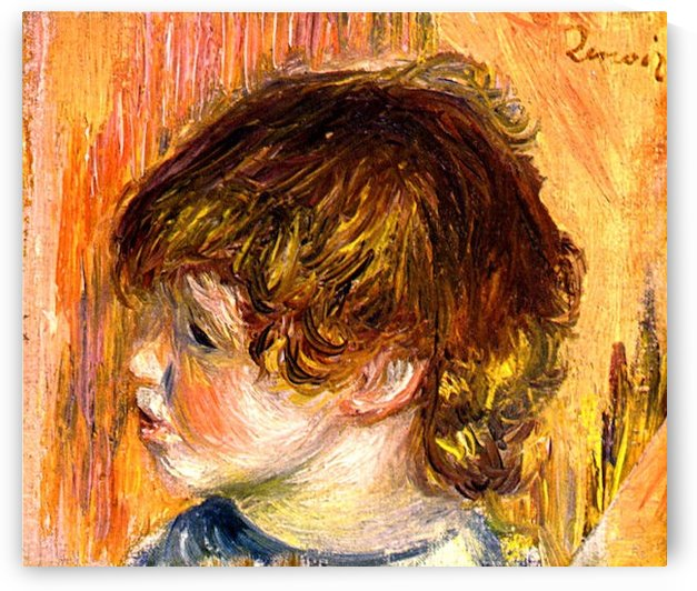 Head of a young girl by
