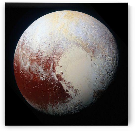 Pluto by Four Beautiful Sunsets
