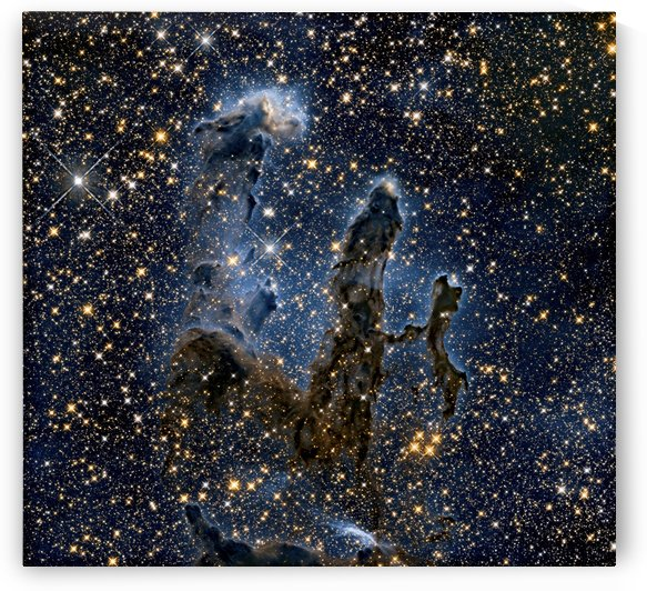 Pillars of Creation by Four Beautiful Sunsets