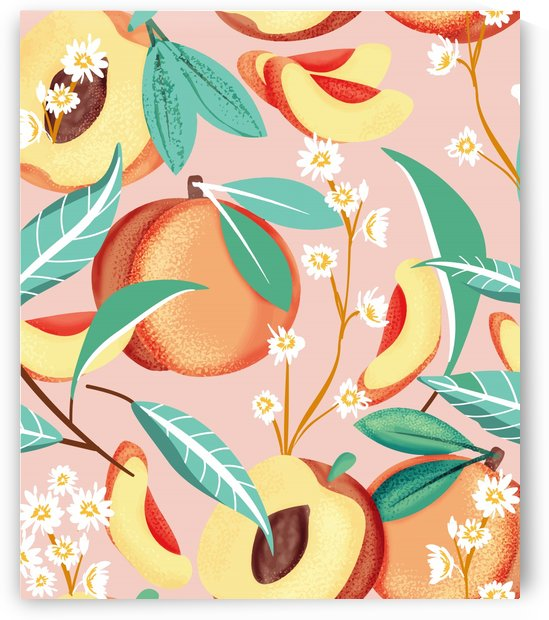 Peach Season by 83 Oranges