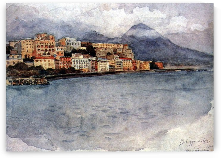 Naples - 1900 by Vasily Surikov