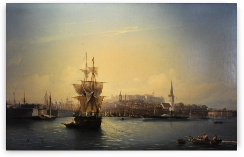 Port of Tallinn by Alexey Bogolyubov