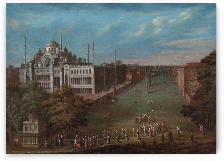 Constantinople by Alexey Bogolyubov