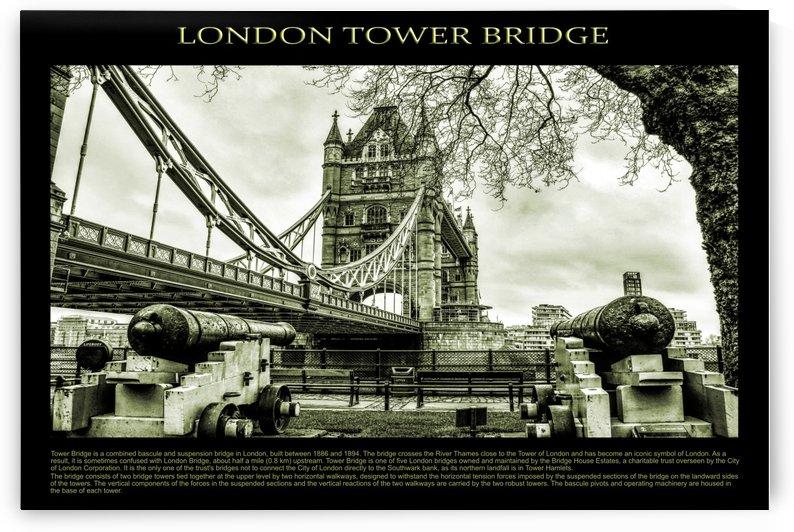 Vintage London Tower Bridge by Bentivoglio Photography