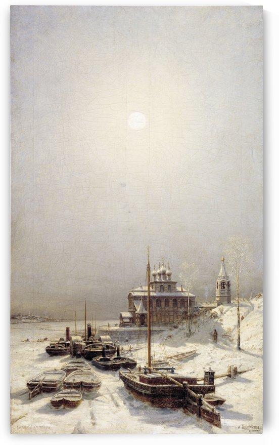 Winter in Borisoglebsk by Alexey Bogolyubov
