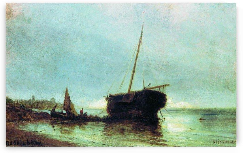 Longboat by Alexey Bogolyubov