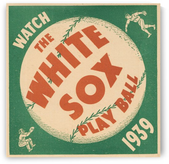 1939 Chicago White Sox Art by Row One Brand