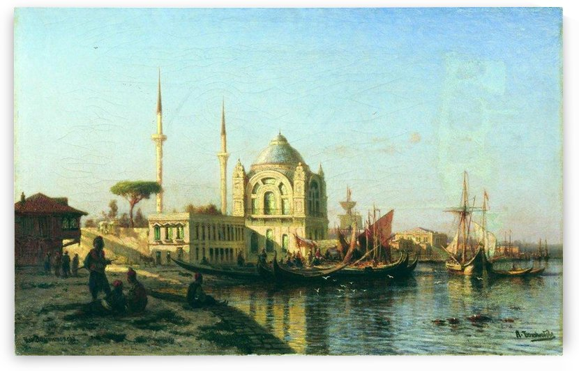 A view of Constantinople by Alexey Bogolyubov