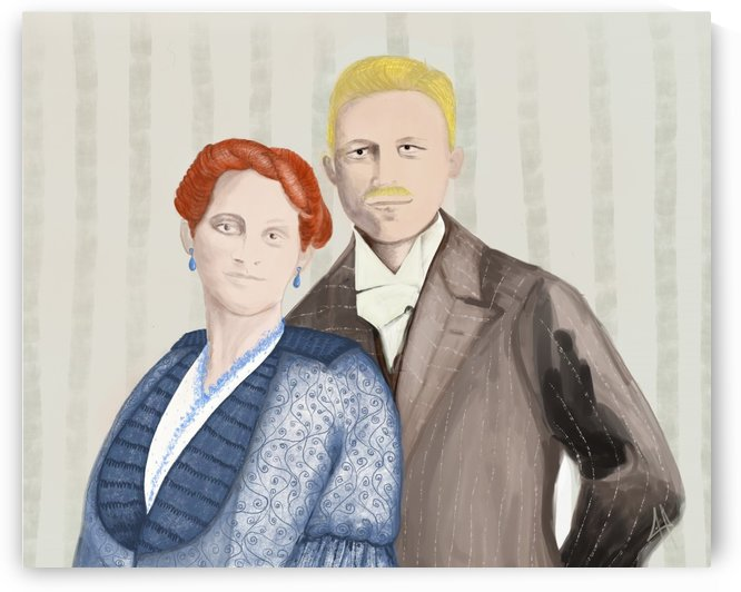Louise and Franck by CLAUDIA BRANDES