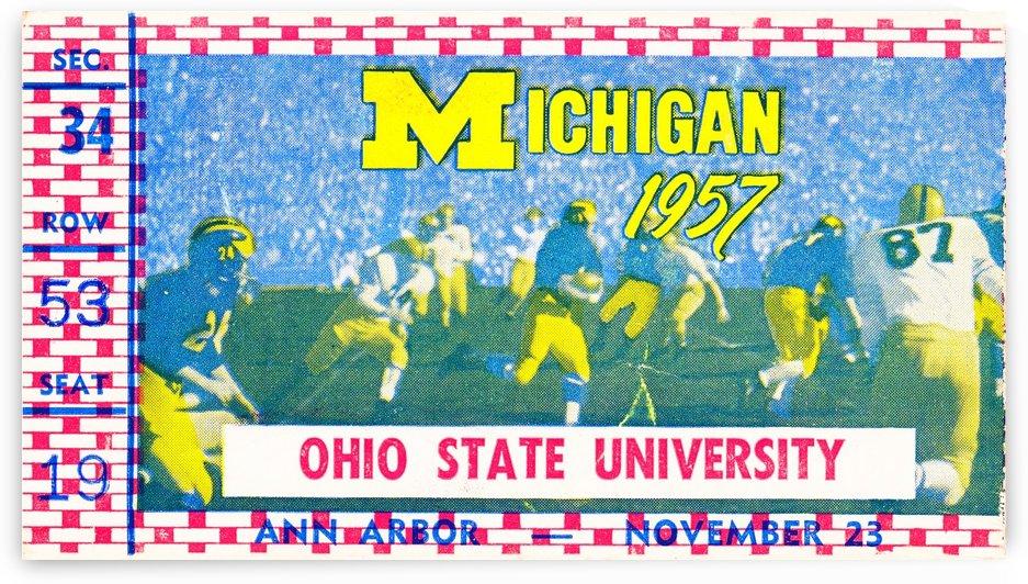 1957 Ohio State vs. Michigan by Row One Brand