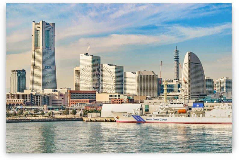 Yokohama Coast Cityscape Japan by Daniel Ferreia Leites Ciccarino