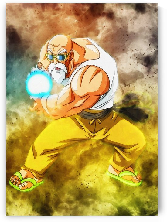Kamehame max power master roshi by Gunawan Rb