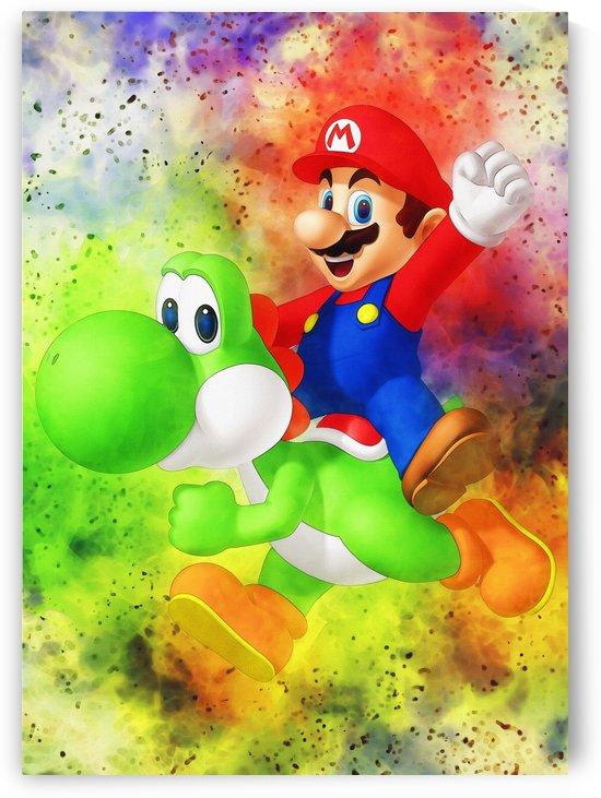 Mario Bros  by Gunawan Rb