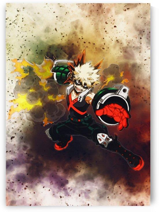 Katsuki Bakugo    Anime boku hero no academia   my hero academia by Gunawan Rb
