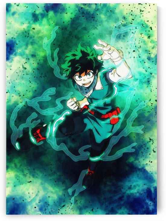 izuku Midoriya    Anime boku hero no academia   my hero academia  by Gunawan Rb