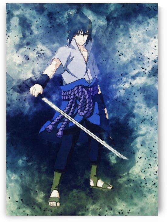 Sasuke Uchiha Sakura Haruno Naruto Uzumaki Itachi  by Gunawan Rb