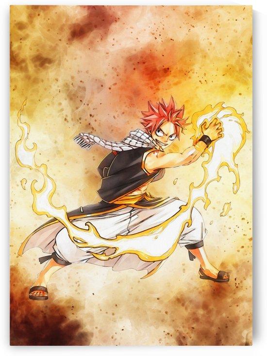 Natsu Dragneel   Anime fairy tail_ by Gunawan Rb