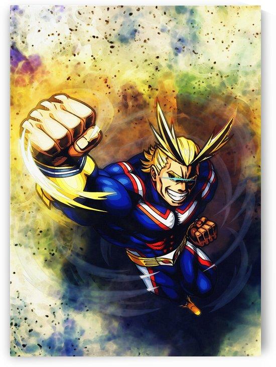 All Might   Anime boku hero no academia   my hero academia_01 by Gunawan Rb