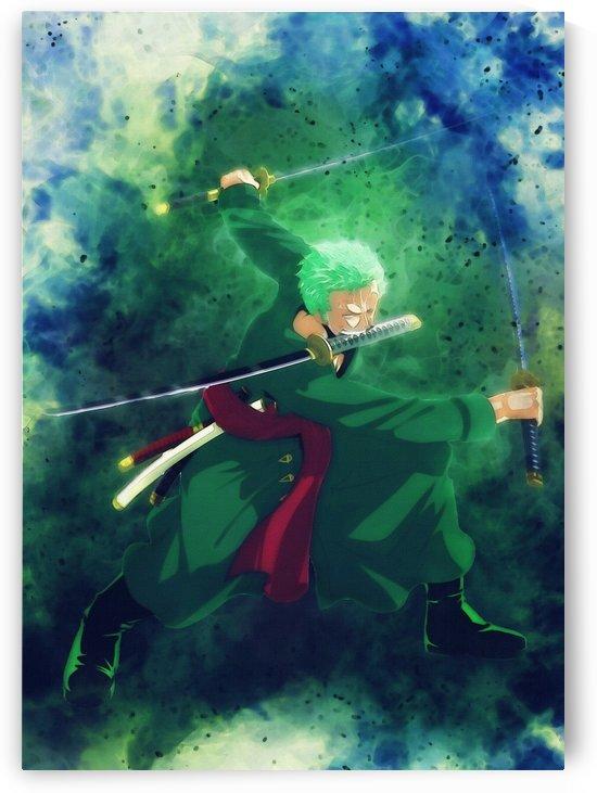 Roronoa Zoro   Anime One Piece2 by Gunawan Rb