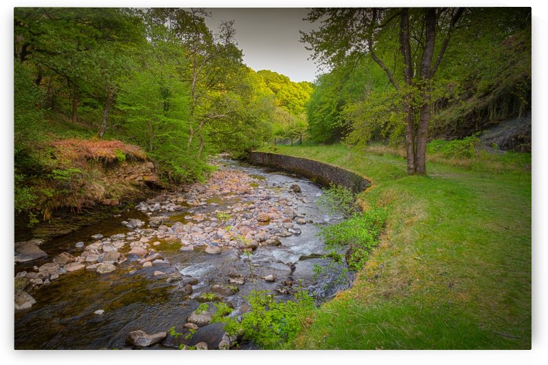 The Afon Twrch at Cwmllynfell by Leighton Collins