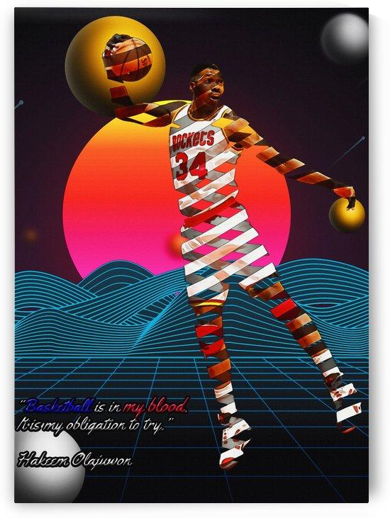 Hakeem Olajuwon   Houston Rockets by Gunawan Rb
