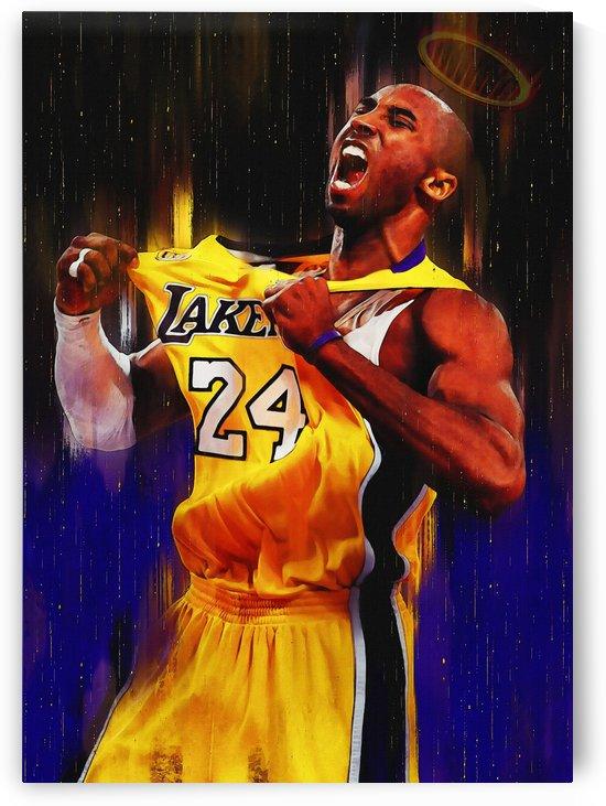 Kobe Bryant Legend by Gunawan Rb