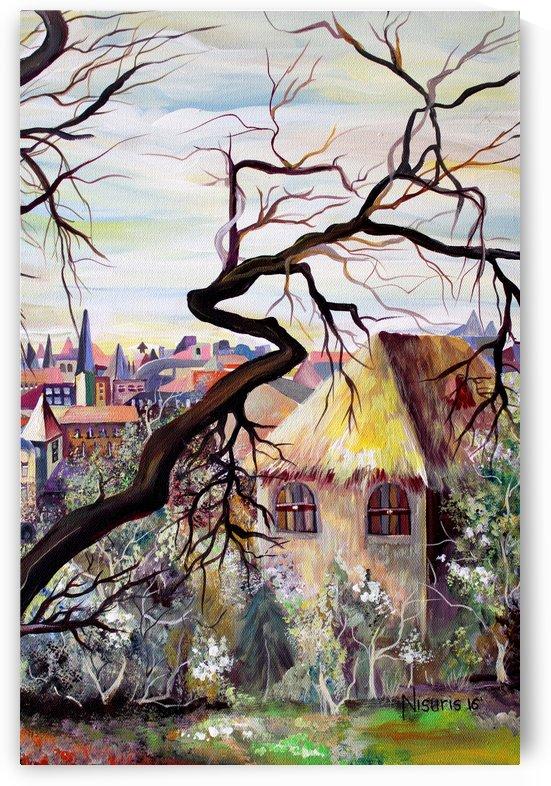French Provenance Bohemian View by Nisuris Art