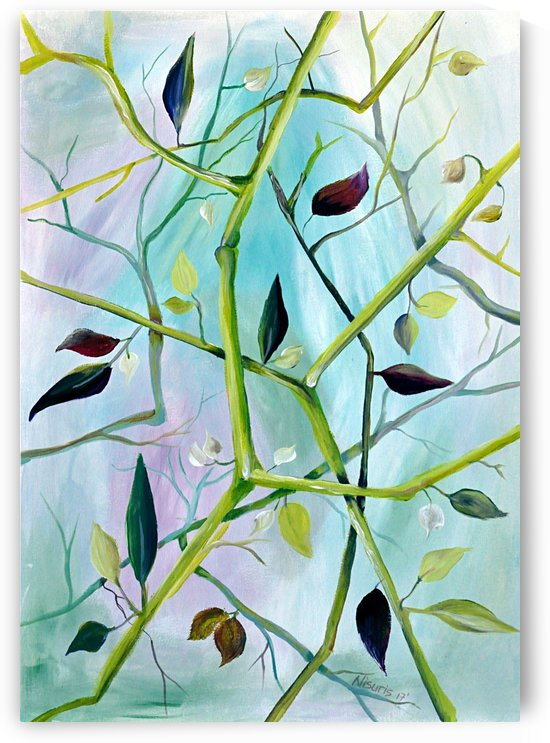Realm of Greenery Foliage by Nisuris Art