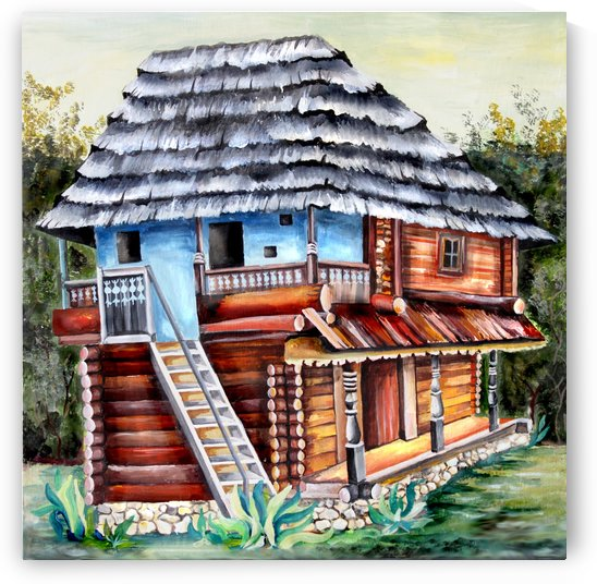 Romania Transylvania  Heritage House by Nisuris Art