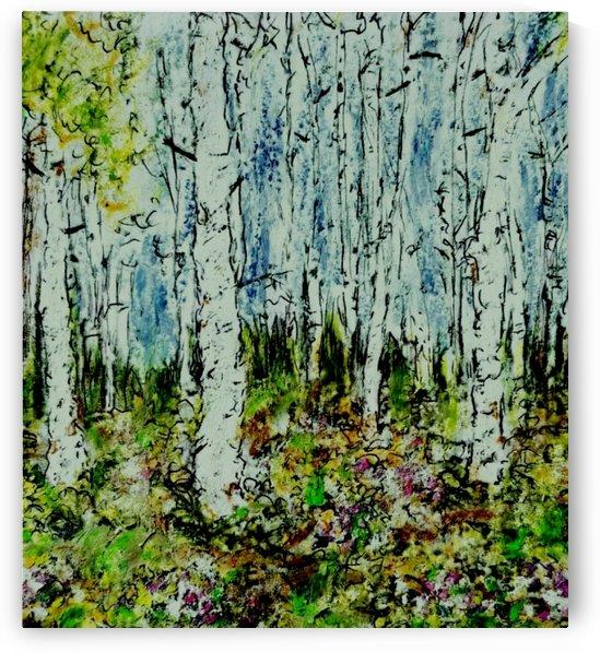 Spring Forest by djjf