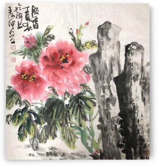 AU 42 Fragrance Of A Flowers    by Zhongwu
