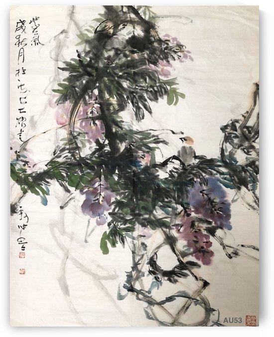 AU 53   Purple Clouds     by Zhongwu