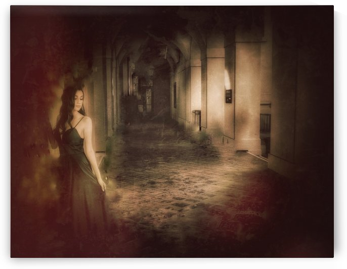 Palace Maiden by Benjamin Collection Fine Art Photography