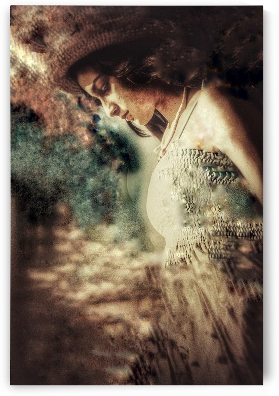 Girl by the Ocean by Benjamin Collection Fine Art Photography