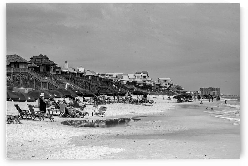 Rosemary Beach Coast by Nancy Calvert