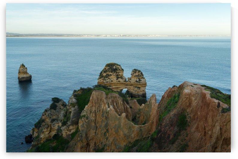 Gold Coast Algarve Classics - Multicolored Cliffs and Seastacks at Ponta da Piedade in Lagos Portugal by GeorgiaM