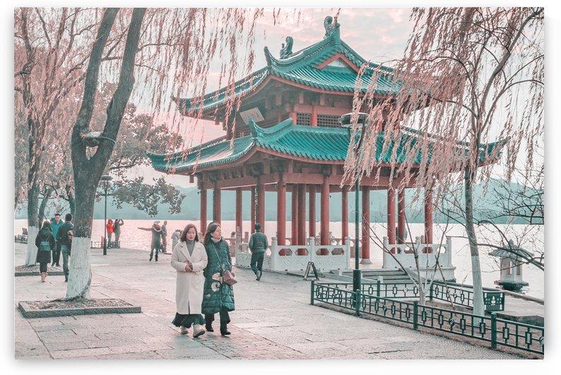 West Lake Hangzhou China by Daniel Ferreia Leites Ciccarino