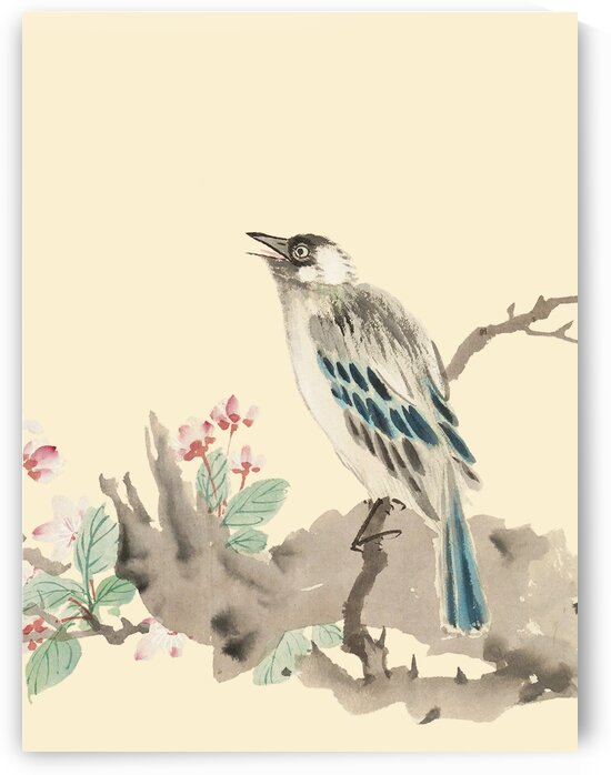 Chinese traditional flower-and-bird painting prints. Ming Dynasty paintings. Vintage art prints. Wall decor. Chinese traditional art prints 005. by YongeArtStudio