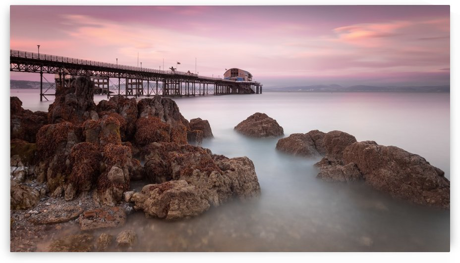 Mumbles pier, Swansea by Leighton Collins
