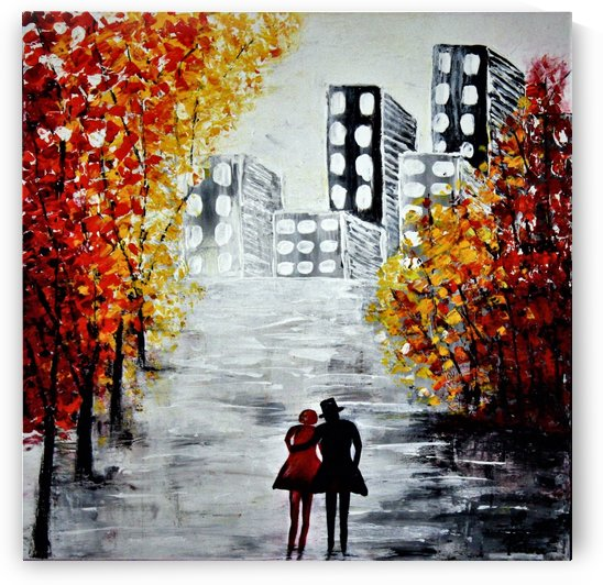 Love in the city by Iulia Paun ART Gallery