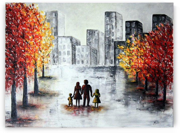 Love in the city 2 by Iulia Paun ART Gallery