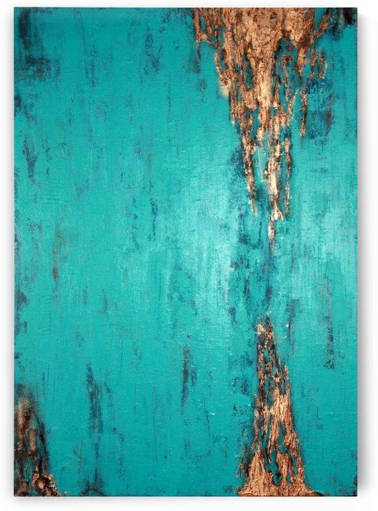 Turquoise serenity by Iulia Paun ART Gallery