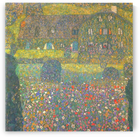 House in Attersee by Klimt by Klimt